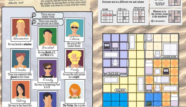 Sunburn Puzzle